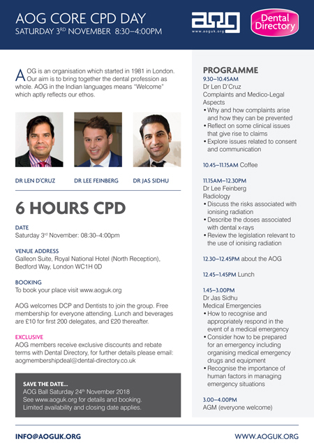 AOG Core CPD Day