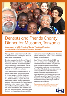 musoma charity dinner 2017